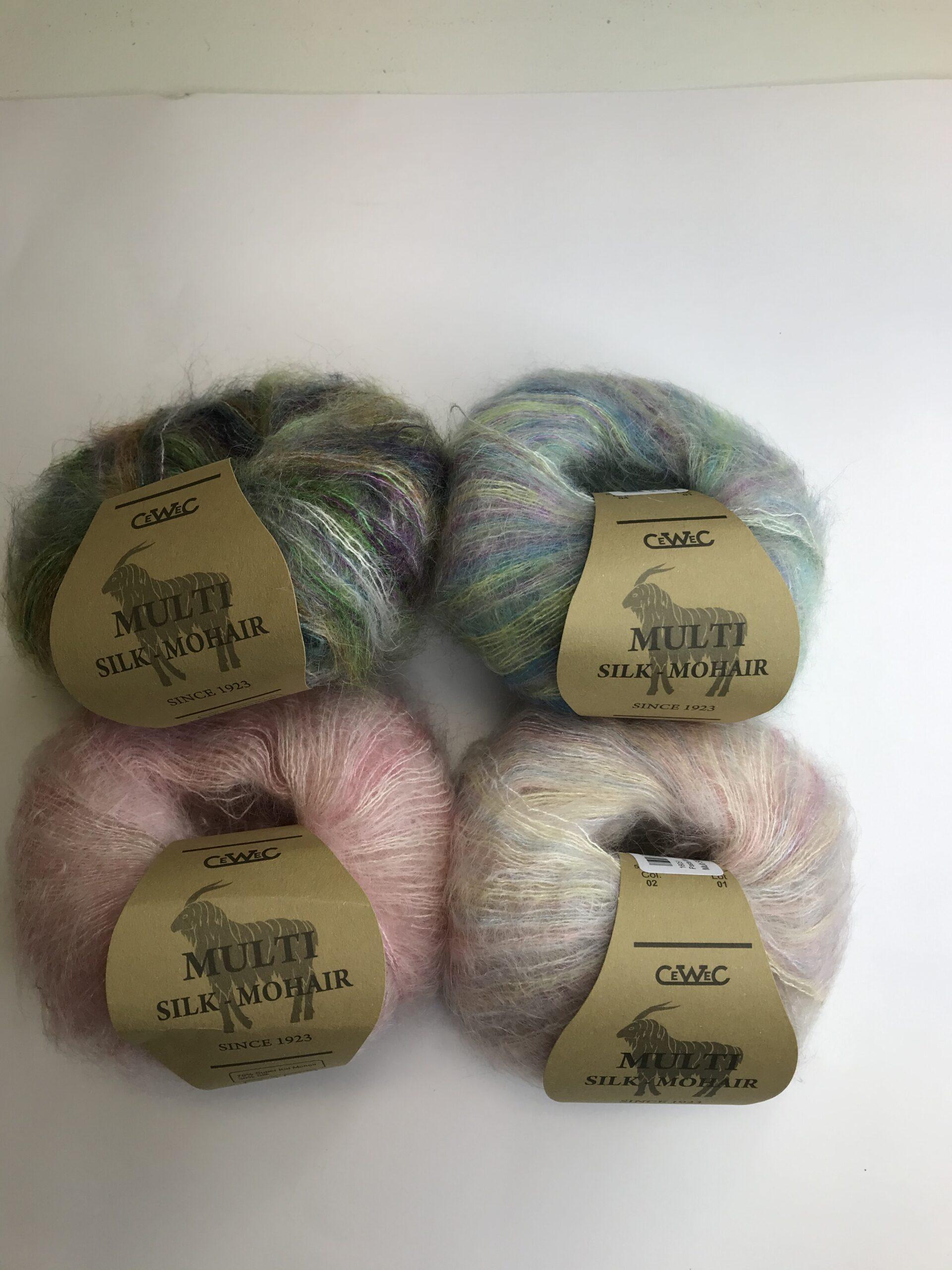 Multi Silk Mohair